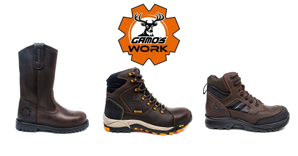 Calzado Gamos – Linea de Seguridad Industrial