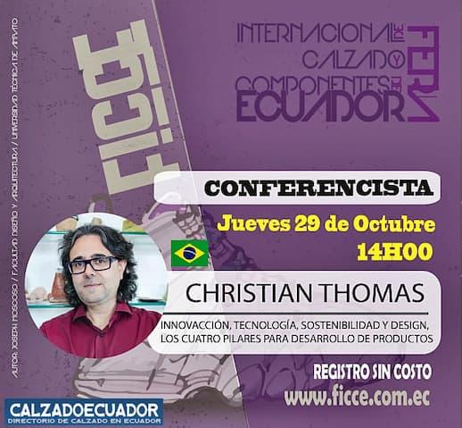 conferencias feria virtual calzado ecuador
