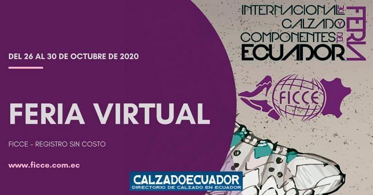 Feria Virtual de Calzado y Componentes del Ecuador 2020